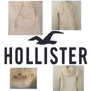 Hollister Off-White Hoodie XS